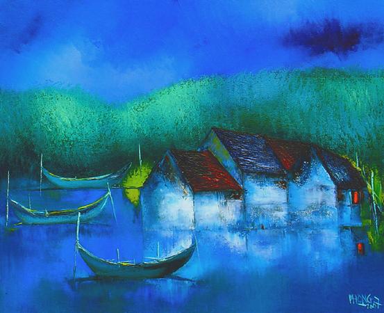 Dao Hai Phong - At Night
