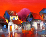 Dao Hai Phong - Red Sunset