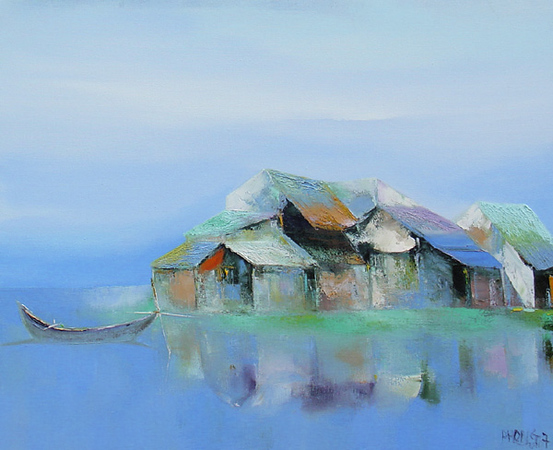 Dao Hai Phong - Floating Village