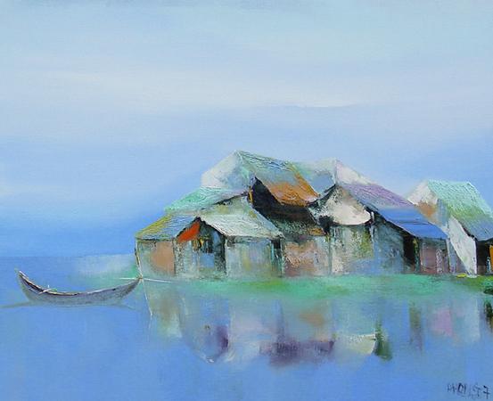 Dao Hai Phong - Floating Village