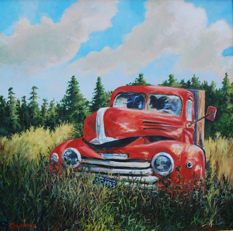 Name of Picture: DAYS GONE BY<br /> Medium: OIL ON CANVAS<br /> Size: 24 X 30<br /> Price: $550.00<br /> Contact: 843-454 6038<br /> E-Mail: dennystevenso@aol.com