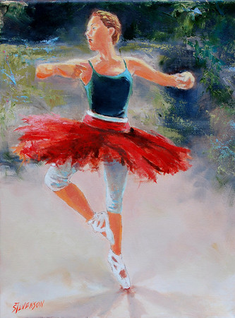 Name of Picture: FOR A DANCER Medium: OIL ON CANVAS Size: 14 X 18 Price: $300.00 Contact: 843-454 6038 E-Mail: dennystevenso@aol.com