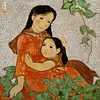 Doan Thuy Hanh - Mother and Daughter