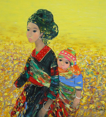 Doan Xuan Tang - Mother and Child