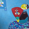 Hoang Phuong Vy, Butterfly, 2011. 50 X 60 cm. Oil on Canvas <b> (SOLD)</b>