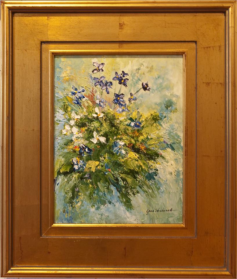 Name: A Splash of Violet<br /> Medium: Palette Knife oils<br /> Size: 12x16<br /> Price: $800<br /> Contact: Jane Woodward<br /> E-Mail:  JaneWoodward@msn.com