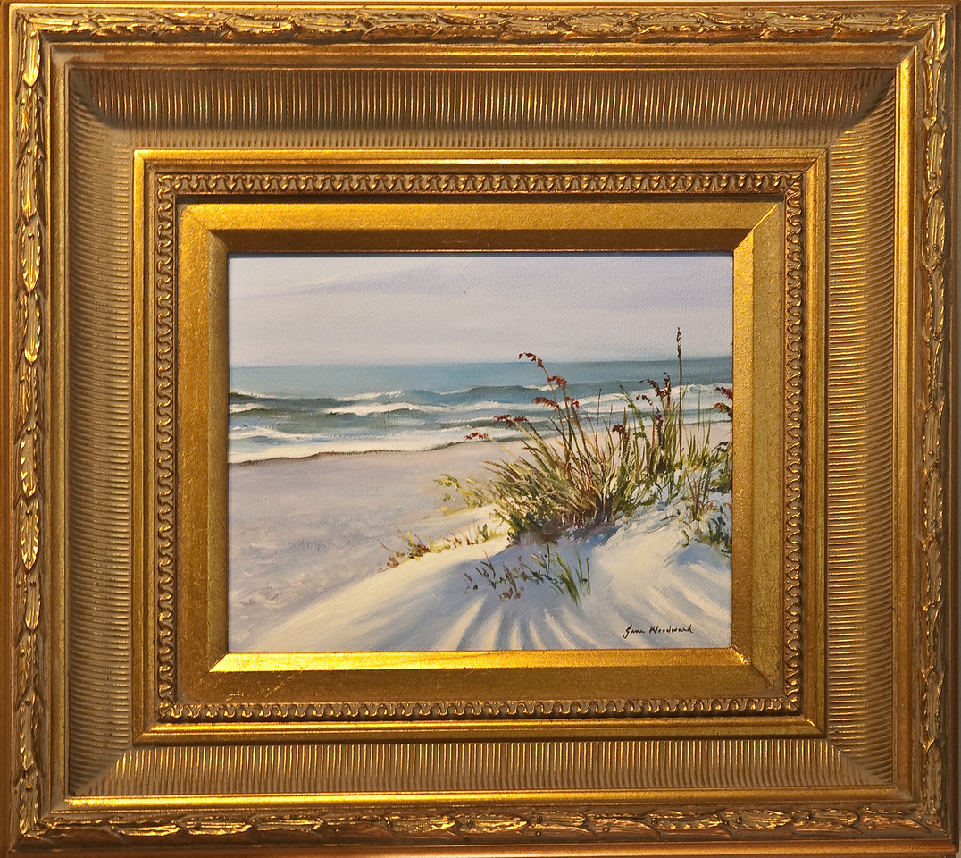 Name: Sand Art<br /> Medium: Oil<br /> Size: <br /> Price: $400<br /> Contact: Jane Woodward<br /> E-Mail:  JaneWoodward@msn.com