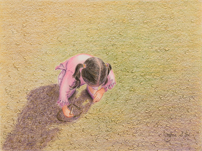 Name: Drawing In Texas Sand #3 Medium: Colored Pencil  Size: 8 1/2 X 11 Price: $ Contact: Jolene Stinson Williams  Email: jolenestinson@yahoo.com  Contact Jolene to purchase prints