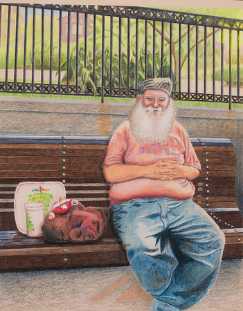 Name: New Orleans Santa Medium: Colored Pencil  Size: 11 X 14 Price: $ Contact: Jolene Stinson Williams  Email: jolenestinson@yahoo.com  Contact Jolene to purchase prints