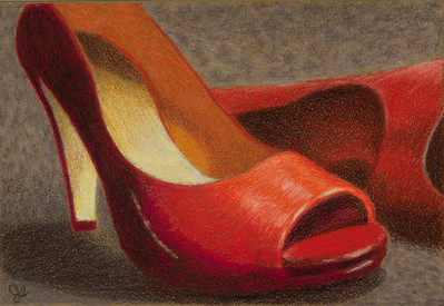 Name: Dancing Partner Medium: Colored Pencil  Size: 6 X 4 Price: $ Contact: Jolene Stinson Williams  Email: jolenestinson@yahoo.com  Contact Jolene to purchase prints