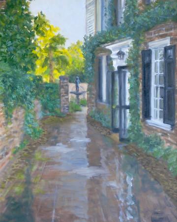Name: Charleston House - SOLD Medium: Oil on Canvas Size:  18x24 Contact: Kay Langdon E-Mail: kdlangdon@yahoo.com