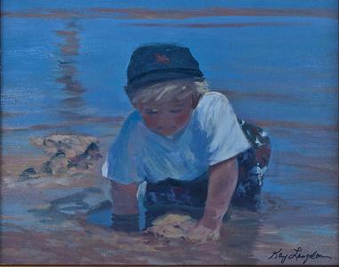 Name: Beach Boy - SOLD Medium: Acrylic Size: 11x14 Contact: Kay Langdon E-Mail: kdlangdon@yahoo.com