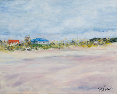 Name: Pawley's Beach Medium: Oil on Canvas Size: 16x20 Contact: Kay Langdon E-Mail: kdlangdon@yahoo.com