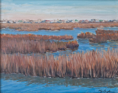 Name: Marsh in Murrels Inlet - SOLD Medium: Acrylic on Canvas Size: 16X20 Contact: Kay Langdon E-Mail: kdlangdon@yahoo.com