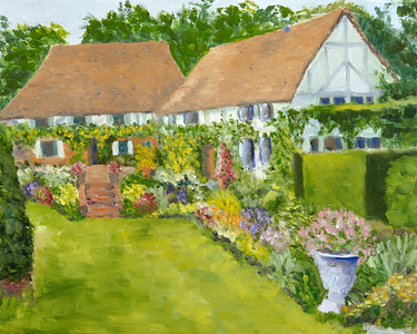 Name: Cotswald Cottage - England Medium: Oil on Canvas Size:  16x20 Contact: Kay Langdon E-Mail: kdlangdon@yahoo.com