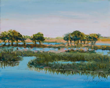 Name: Low Country Marsh Medium: Oil on Canvas Size:  8x10 Contact: Kay Langdon E-Mail: kdlangdon@yahoo.com