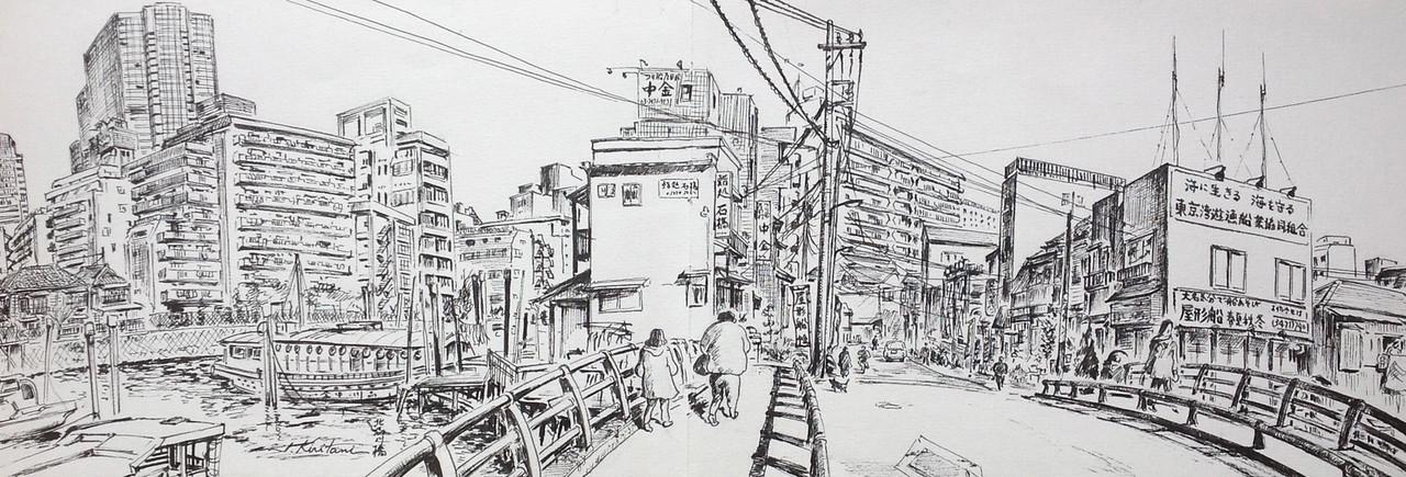 Itsuo Kiritani - Kita Shinagawa Bridge