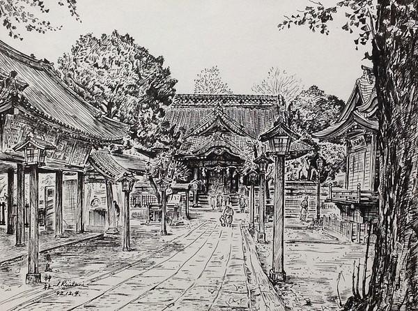 Itsuo Kiritani - Yushima Jinja Shrine