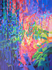 Kyaw Soe, New Life Story (2), Acrylic on Canvas, 2014. 50 X 36 in.