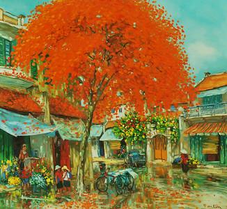 Autumn in the Rain