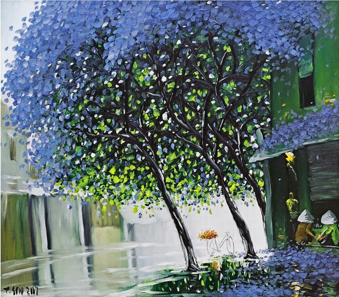 Violet Tree