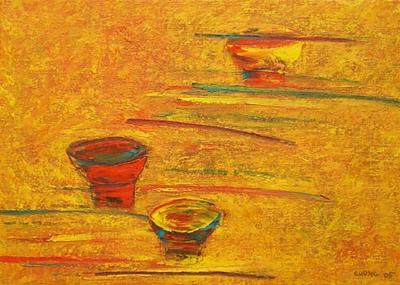 Still Life Bowls and Chopsticks