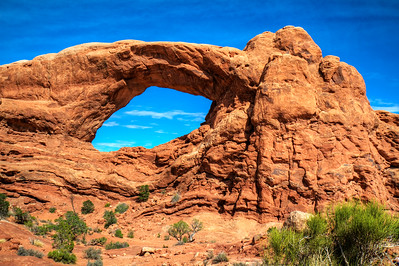 South Window Arch.   Arches National Park, Utah