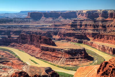 Dead Horse Point.   Canyonlands, Utah