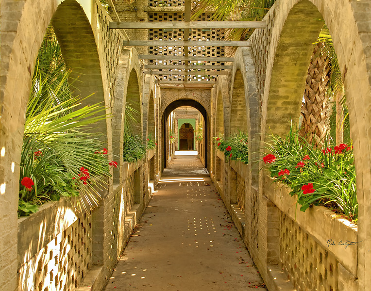 "Name: Atalaya Breezeway 2<br /> Medium: Photography<br /> Size: <br /> Price: $<br /> Contact: Mike Covington<br /> E-Mail: mike@lowcountryphotos.com <br /> For a print of this work, go to  <a href=""http://www.lowcountryart.org"">http://www.lowcountryart.org</a>"