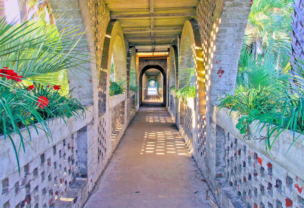 "Name: Atalaya Breezeway<br /> Medium: Photography<br /> Size: <br /> Price: $<br /> Contact: Mike Covington<br /> E-Mail: mike@lowcountryphotos.com <br /> For a print of this work, go to  <a href=""http://www.lowcountryart.org"">http://www.lowcountryart.org</a>"
