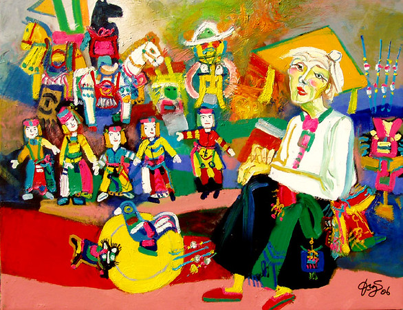 Nguyen Dinh Dung - Water Puppets