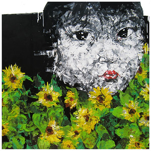 Child with Sunflowers