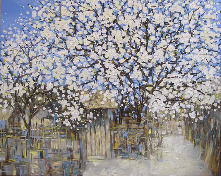Nguyen Duc - White Plum Blossoms