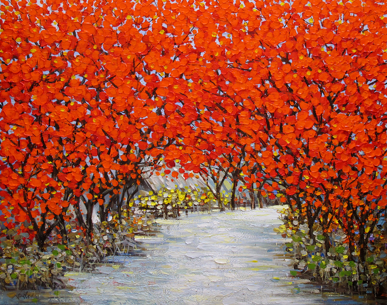 Nguyen Duc- Red Leaf Alley