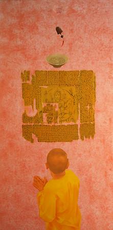 Nguyen Minh Phuoc - Buddha and Bowl