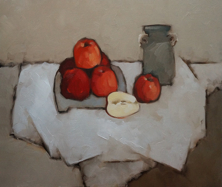Nguyen Thanh Binh - Apples and an Ancient Pot