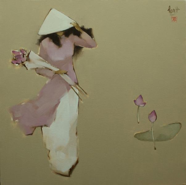 Lotus in Wind