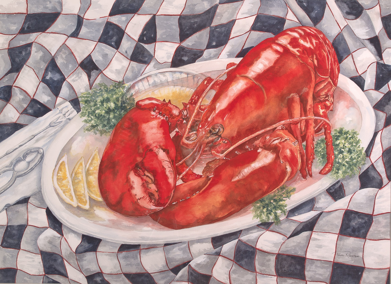 Name: This One's For You!<br /> Medium: Watercolor<br /> Size: 22 X 30<br /> Price: $1,000<br /> Contact: Paula Robertson<br /> E-Mail: paulamrobertson@yahoo.com