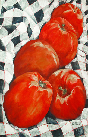 Name: Big Reds [SOLD] Prints available at www.paula-robertson.com Medium: Watercolor Size: 22 X 30 Price: $1,000 Contact: Paula Robertson E-Mail: paulamrobertson@yahoo.com