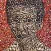 Pen Robit, Untitled, 2011. Enamel on canvas, 52 x 63 in.<b> SOLD </b>