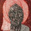 Pen Robit, Untitled (Kroma series), Enamel on Canvas, 2013. 48 X 60 in.