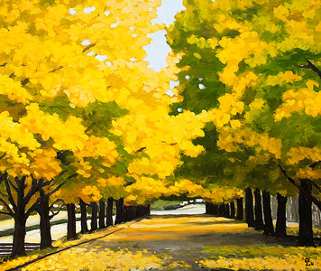 Pham Luan - Golden Autumn