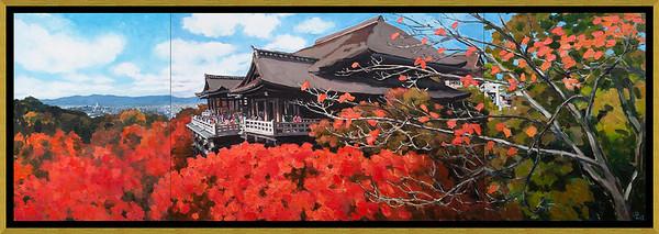 Pham Luan - Kiyomizu Temple, Kyoto