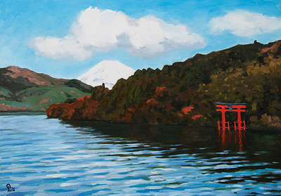 Pham Luan - Lake Ashi, Hakone