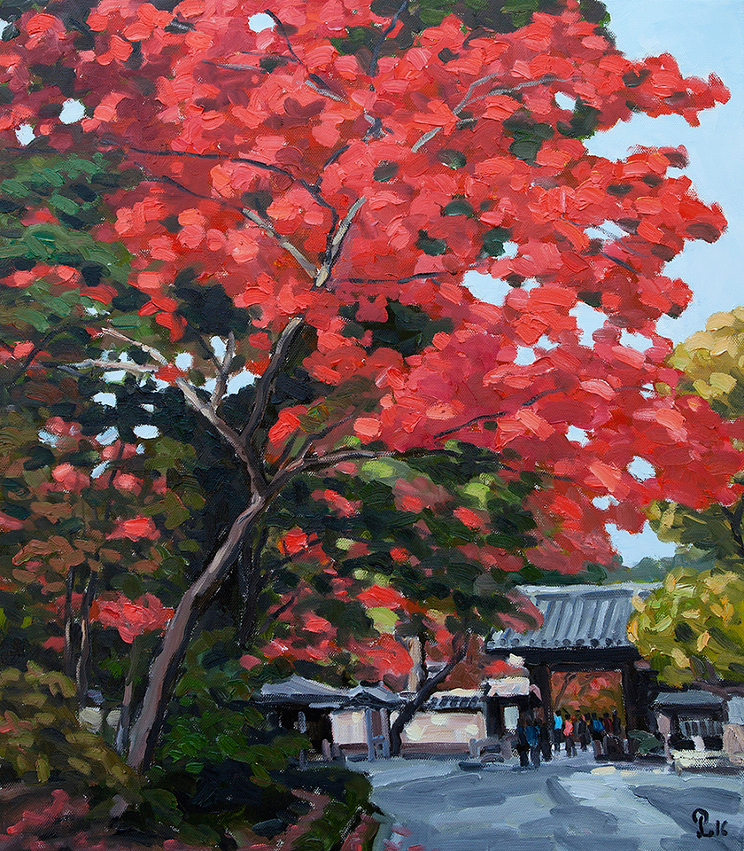 Pham Luan - Autumn in Kyoto