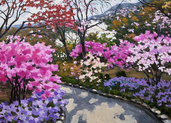Pham Luan - Hyakkaen Garden at Tenryu-ji, Kyoto