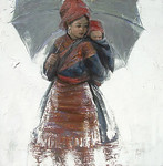 Sapa Young Mother and Child (2)