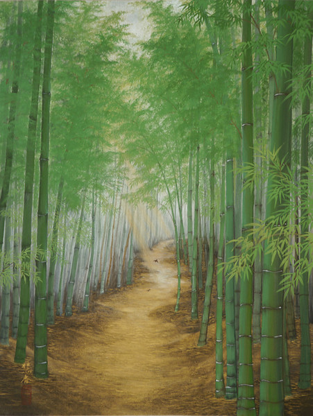 Suiko Ohta - Rustlings in the Bamboo Forest 爽風の小径-嵯峨野