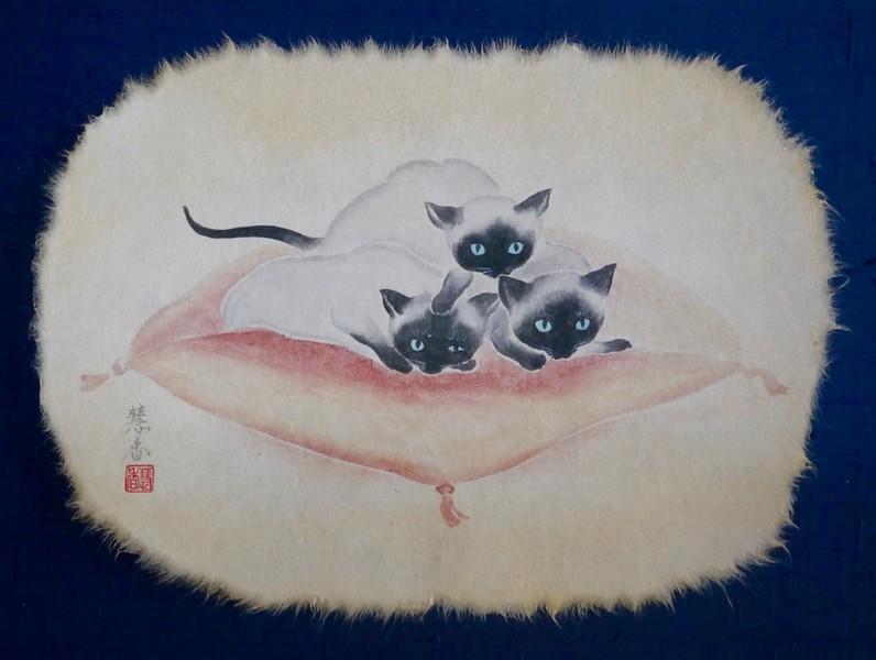 Suiko Ohta - My Cushion  お気に入りの場所