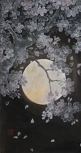 Shoko Ohta - Cherry Blossoms in the Night 夜桜